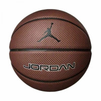 Мяч баскетбольный  Nike JORDAN LEGACY 8P DARK AMBER/BLACK/METALLIC SILVER/BLACK size 7