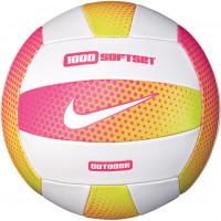 Мяч волейбольный Nike 1000 SOFTSET OUTDOOR VOLLEYBALL 18P HYPER PINK/WHITE/HYPER PINK/WHITE size 5